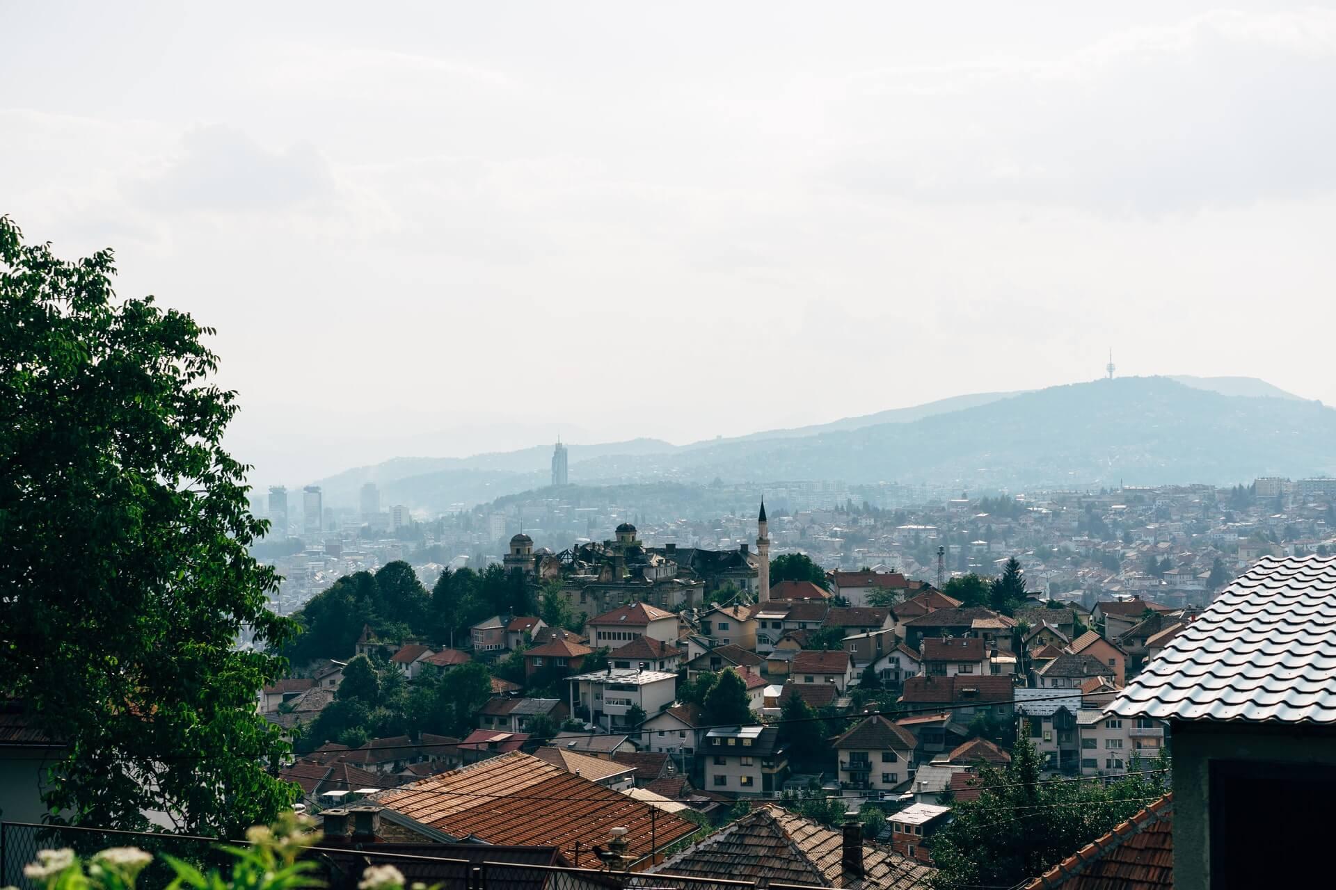 Sarajevo in Bosnien
