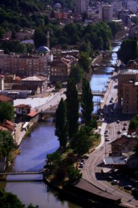 Sarajevo Fluss