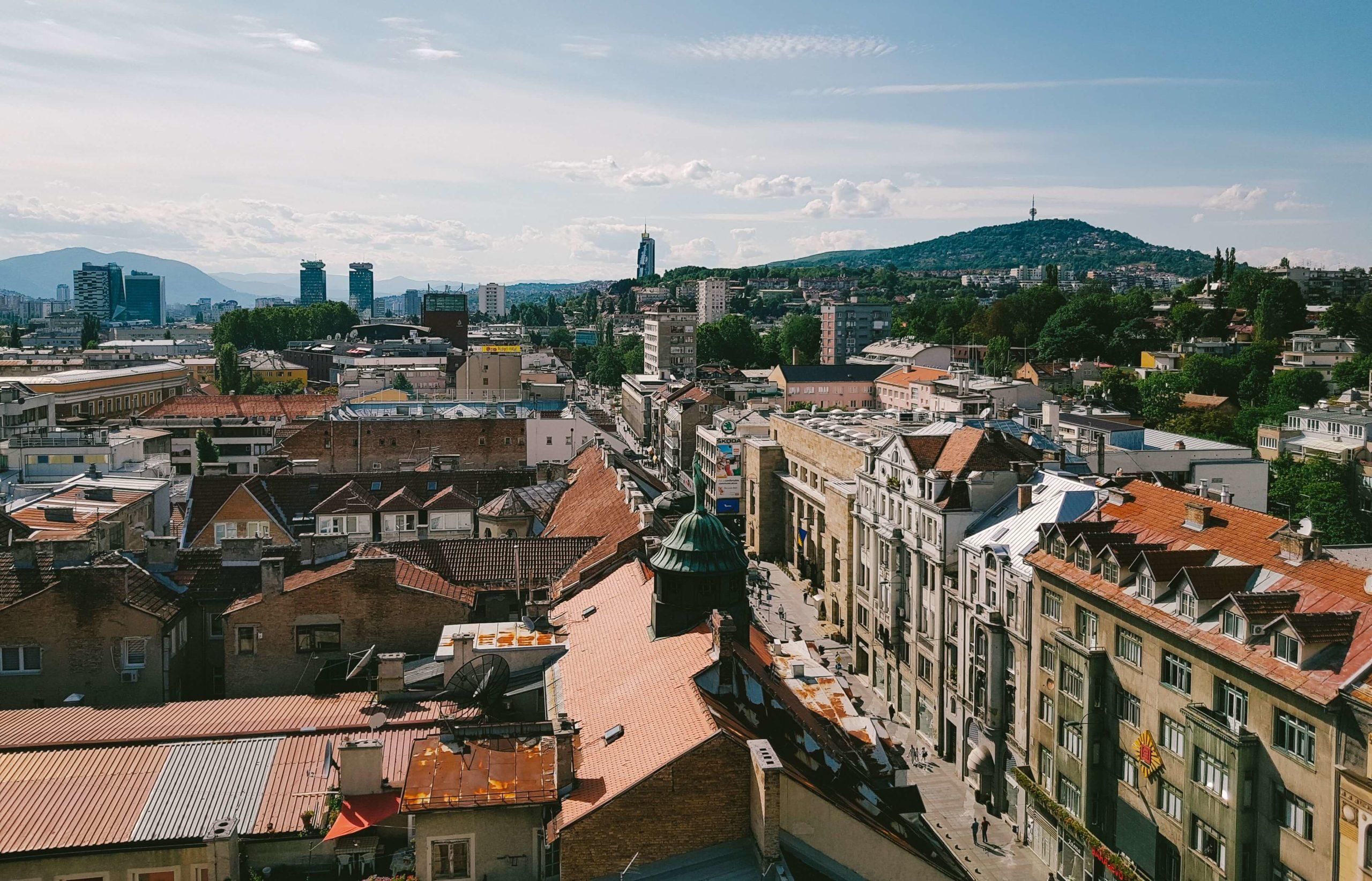 Sarajevo Stadtansicht